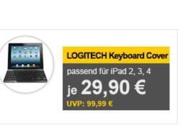 Logitech: Ultrahin Keyboard Cover als B-Ware für 29,90 Euro frei Haus