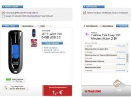 Logitel: 100 Minuten, 3000 SMS und 250 MByte im D-Netz für 2,99 Euro
