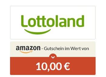 Gratis: Amazon-Gutschein über 10 Euro fürs Lottofeld zum Preis von 99 Cent