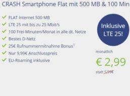 """Vitrado: """"LTE""""-Tarif mit 100 Freiminuten im Telekom-Netz für 2,99 Euro"""