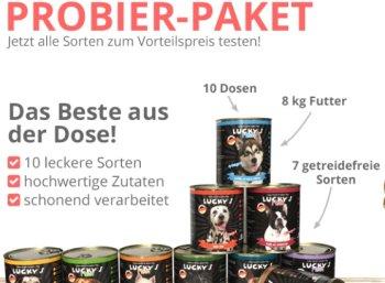 """Exklusiv: 20 Prozent auf Tierfutter und mehr bei """"Lucky Pet"""""""