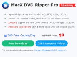 Gratis: MacX DVD Ripper Pro & iPad Gewinnspiel für kurze Zeit komplett gratis