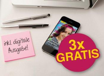 """Gratis: Drei Ausgaben der """"SmartWoman"""" zum Nulltarif frei Haus"""