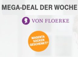 Gratis: Magenta-Socken für Telekom-Kunden zum Nulltarif frei Haus