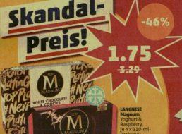 Penny: Magnum im Viererpack für 1,75 Euro