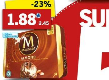Lidl: Viererpack Magnum für 1,88 Euro ab Montag