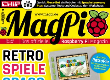 """Gratis: Fünf Ausgaben """"MagPi-Magazin"""" zum kostenlosen Download"""