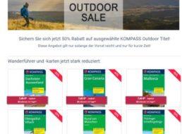 Kompass: Reiseführer mit 50 Prozent Rabatt für wenige Tage