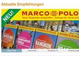 Marco Polo: Reiseführer zu Preisen ab 2,99 Euro frei Haus