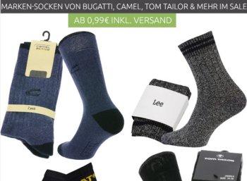 Socken-Rabatt: Ebay und Outlet46 mit Markensocken ab 99 Cent frei Haus