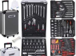 Ebay: 849-teiliger Werkzeug-Rollkoffer von Masko für 62,80 Euro frei Haus