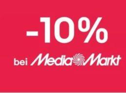 Mediamarkt: 10 Prozent Rabatt via Ebay für kurze Zeit