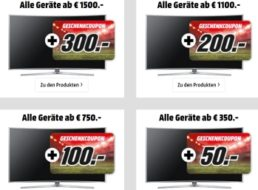 Mediamarkt: Bis zu 500 Euro EM-Rabatt auf TVs, Beamer und Soundbars