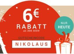 Medimops: 6 Euro Nikolaus-Rabatt ab 30 Euro Warenwert