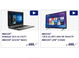 Aldi-Notebook: Medion Akoya E6432 ab 1. Dezember im Süden für 499 Euro