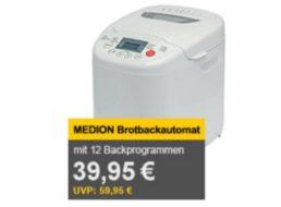 Allyouneed: Brotbackmaschine Medion MD 14752 für 39,95 Euro frei Haus