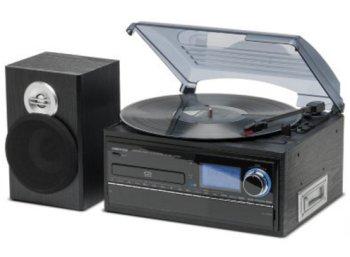 Medion: Mini-Anlage mit Plattenspieler, CD-Brenner & mehr für 129 Euro