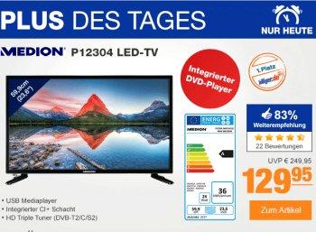 Plus: Full-HD-TV mit Triple-Tuner und DVD-Player für 129,95 Euro frei Haus