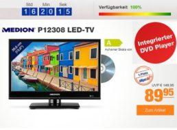 Plus: Einsteiger-TV mit Triple-Tuner und DVD-Player für 89,95 Euro
