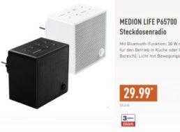 Aldi-Nord: Steckdosenradio Medion Life P65700 für 29,99 Euro