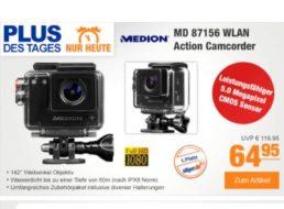 Plus: Actionkamera Medion Life S47124 für unter 60 Euro frei Haus