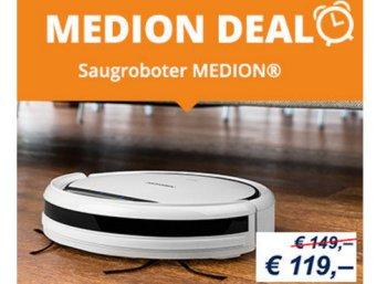 Medion: Staubsaugerroboter MD 16192 für 123,95 Euro frei Haus