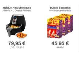 Medion: Gut bewertete Heißluftfritteuse MD 17320 für 79,95 Euro