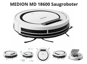 Ebay: Saugroboter Medion MD 18600 mit guten Bewertungen für