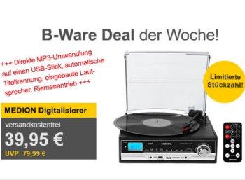 Allyouneed: Schallplatten- und Kassettendigitalisierer für 36,95 Euro frei Haus