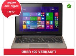 Medion: Touch-Netbook Akoya E 1232T für 179,99 Euro frei Haus