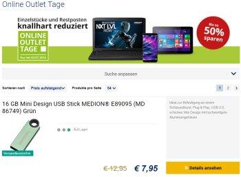 Medion: Outlet-Tage mit Gratis-Versand und Artikeln ab 7,95 Euro