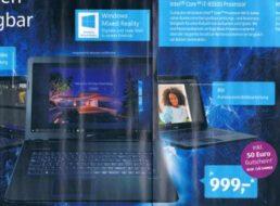 Aldi-Notebook: Medion P7652 mit starker CPU für 999 Euro