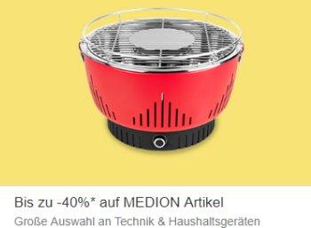 Ebay: Medion-Rabattaktion mit Technikartikeln ab 9,99 Euro frei Haus