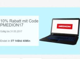 Medion: Zehn Prozent Rabatt bei Ebay für eine Woche