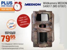 Plus: Outdoor-Überwachungskamera Medion S49017 für 79,95 Euro frei Haus