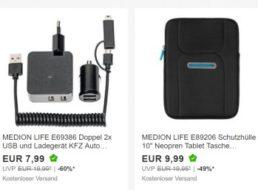 Medion: Sale bei Ebay mit Gratis-Versand und Artikeln ab 7,99 Euro