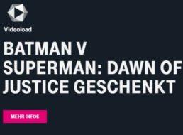 """Telekom Megadeal: """"Batman v Superman"""" bei Videoload zum Nulltarif"""