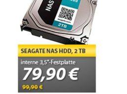 Meinpaket: Interne Seagate Festplatte mit zwei TByte für 79,90 Euro