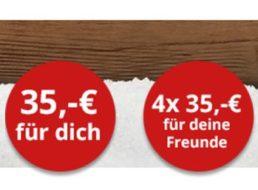 Gratis: Gutschein über 35 Euro ohne Mindestbestellwert für Foto-Leinwand
