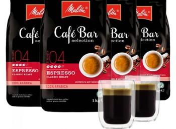 Exklusiv: Vier Kilo Melitta-Kaffebohnen & zwei Gläser für 29,99 Euro frei Haus