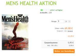 Mens Health: Jahresabo für 5,95 Euro frei Haus