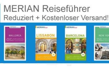 Terrashop: Merian-Reiseführer zu Preisen ab 2,99 Euro frei Haus