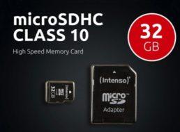 Ebay: Micro-SDHC-Karte mit 32 GByte für 5 Euro frei Haus