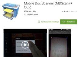 Gratis-App: Mobile Doc Scanner wieder zum Nulltarif verfügbar
