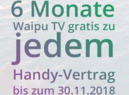 Modeo: Vodafone-Allnet-Flat mit sechs Monaten Waipu für 10,99 Euro