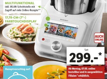 Monsieur Cuisine Connect: Thermomix-Alternative vom Discounter jetzt mit WLAN