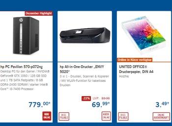 Lidl: Multimedia-Spezial mit Druckern, Monitoren und mehr