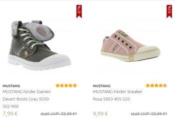 Mustang: Sale mit Jeans und Sneakern ab 7,99 Euro frei Haus