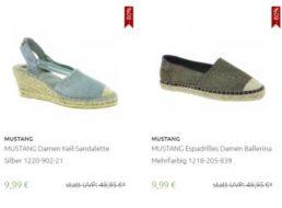 Mustang: Sneaker, Sandaletten und mehr ab 9,99 Euro frei Haus