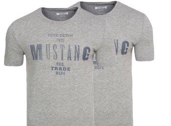Mustang: T-Shirts im Doppelpack für 17,99 Euro frei Haus